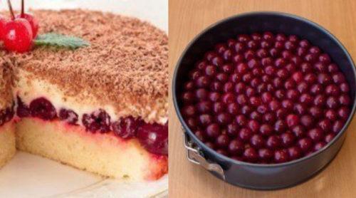 Вишневый-пирог-Наслаждение