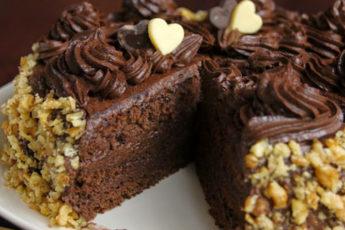 Вкусный-и-простой-шоколадный-тортик