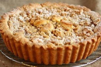 Яблочный-пирог-за-несколько-минут