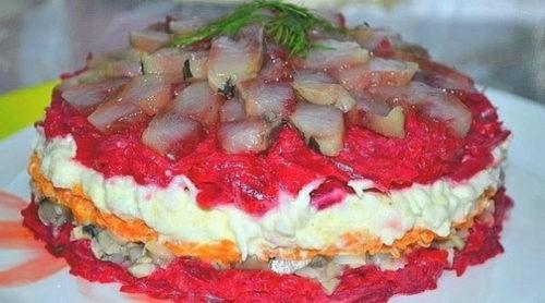 салат-с-сельдью