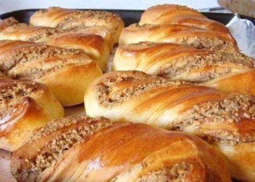 Ореховые-булочки