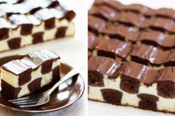 Шахматный-торт