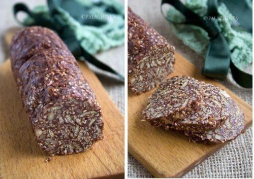Шоколадное-салями-с-орехами-и-кунжутом