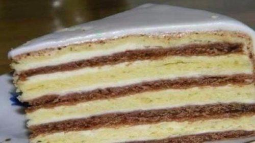 Сметанный-торт-«Мишка-на-севере»