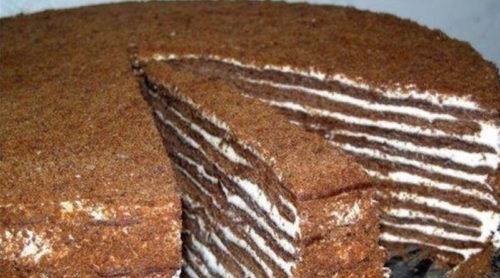 Торт-Нутелла