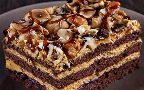 Торт-шоколадный-«Арабские-сказки»