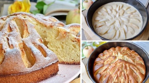 Яблочный-пирог-из-детства
