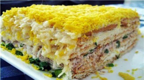торт-салат-Закусочный