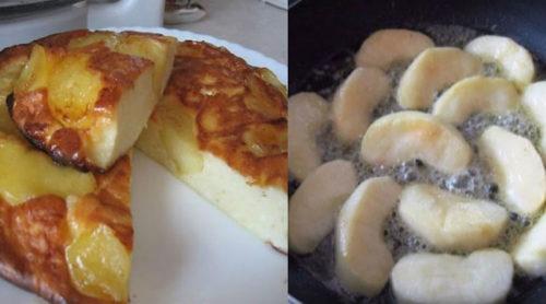 творожно-яблочный-пирог