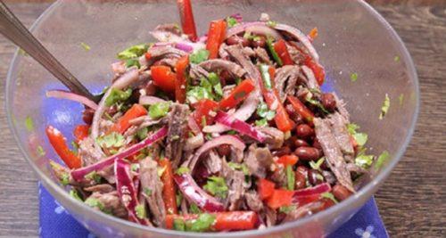 вкусный-салат-Тбилиси