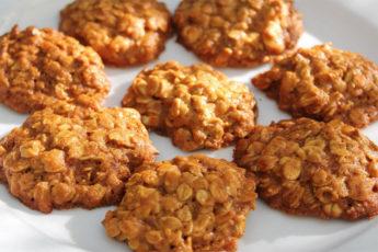 Диетическое-овсяное-печенье