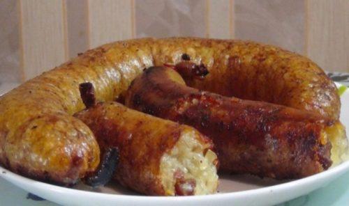 Картофельная-колбаса