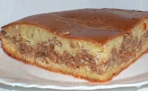 Пирог-с-мясом