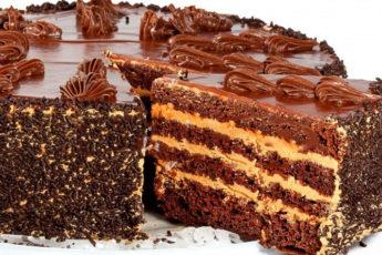 Шоколадный-торт-Пеле