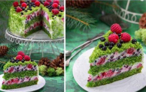 Торт-Лесной-мох