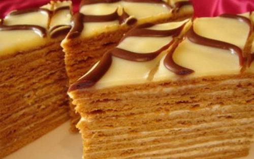 Торт-Медовик-без-масла
