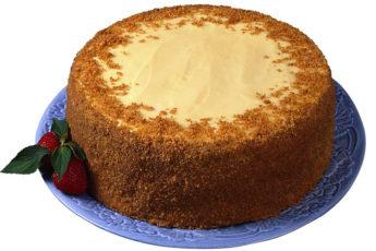 Торт-на-кефире-«Ням-ням»