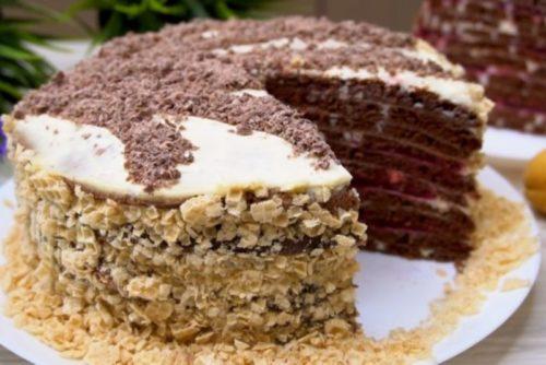 Торт-на-сковороде
