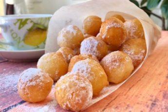Творожные-пончики