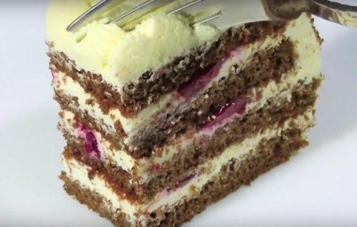 Творожный-торт