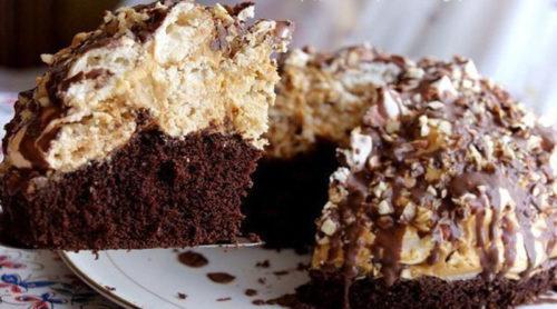 трюфельный-торт