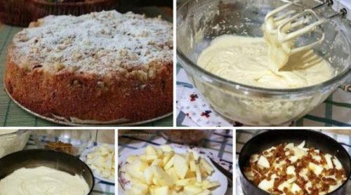 яблочный-пирог-Домашний