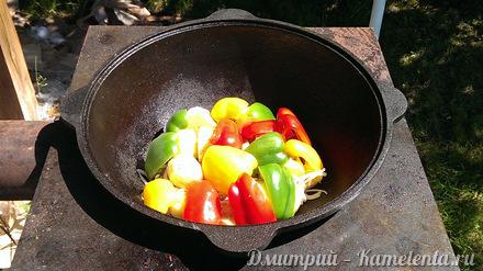 Приготовление рецепта Дымляма шаг 3