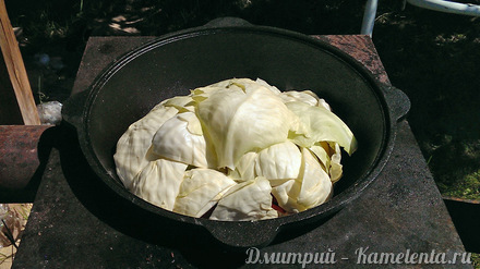 Приготовление рецепта Дымляма шаг 4