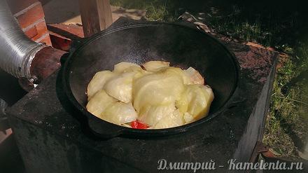 Приготовление рецепта Дымляма шаг 5