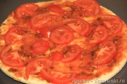 """Приготовление рецепта Пицца """"Минутка"""" шаг 5"""