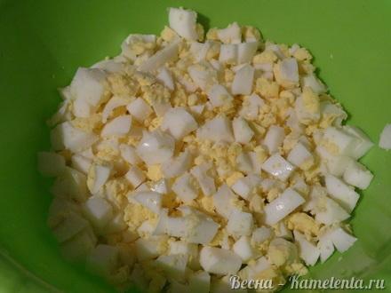 Приготовление рецепта Капустный пирог с молочной капустой шаг 8