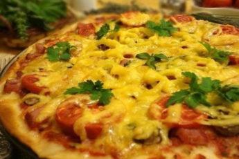 Тонкая-итальянская-пицца
