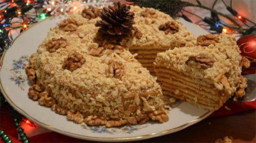 Торт-на-сковороде-Ореховый-трюфель