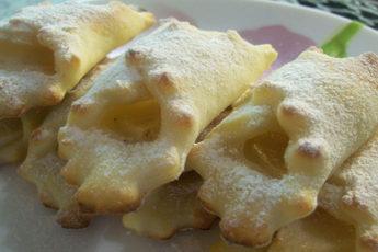 Творожное-печенье-Платочки