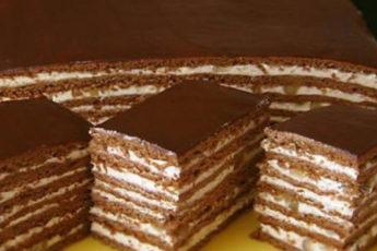 Вкусный-шоколадно-медовый-торт-с-заварным-кремом