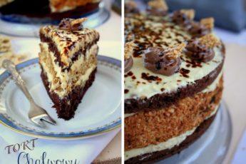 халвовый-торт