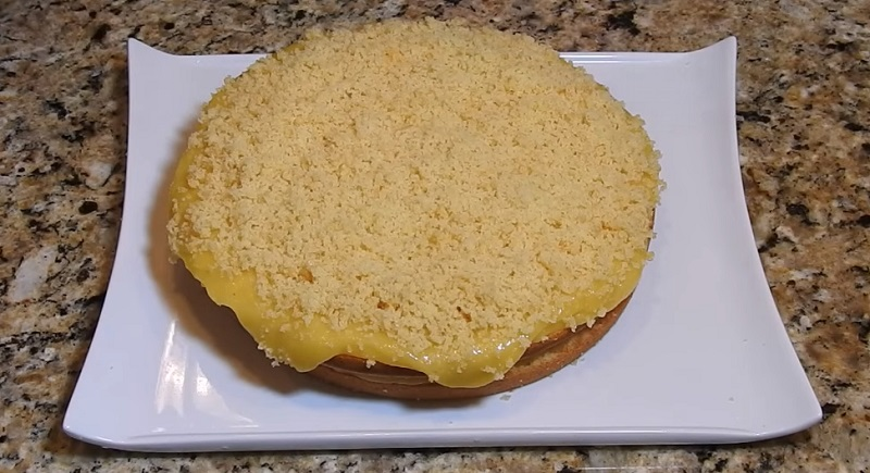 Постный бюджетный торт с кремом: это невероятно вкусно