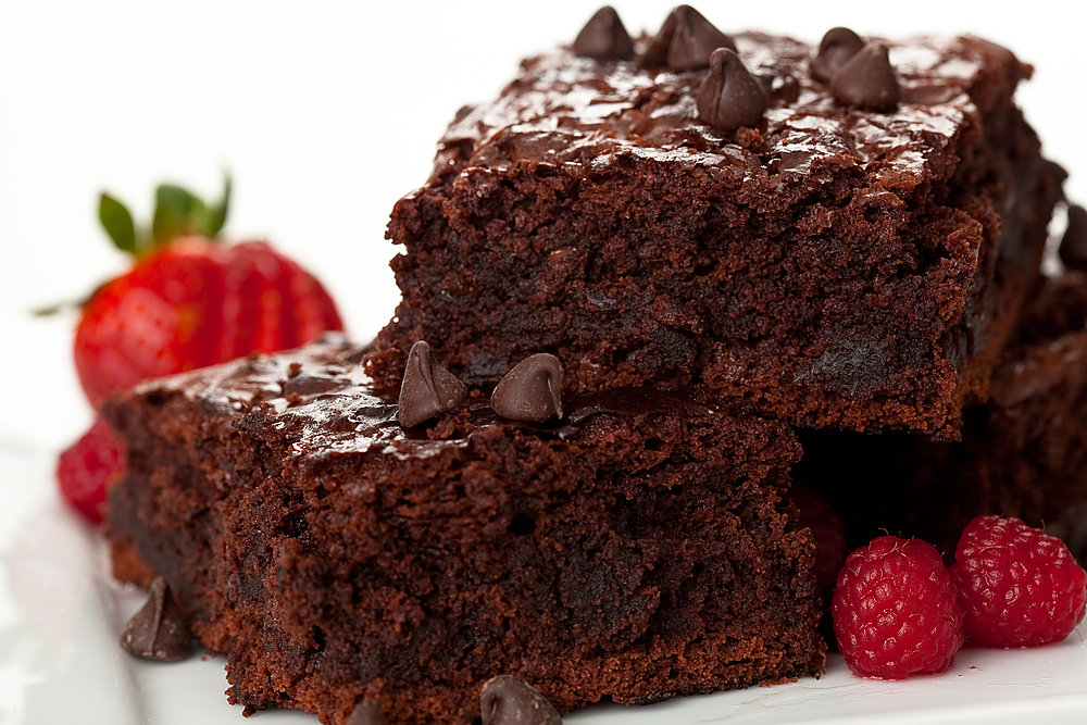 Восхитительные пирожные из шоколада