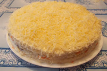 Селедочный-торт