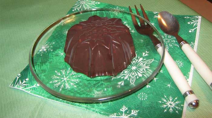 Лёгкий шоколадно-творожный десерт
