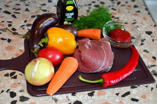 Нежная говядина в кисло-сладком соусе