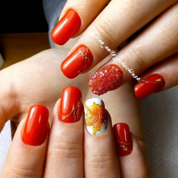 JamAdvice_com_ua_nail-art-red-with-gold_3