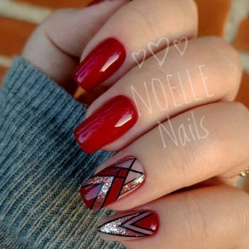 JamAdvice_com_ua_nail-art-red-with-silver_3