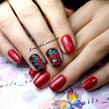 JamAdvice_com_ua_red-nail-art-for-short-nails_1
