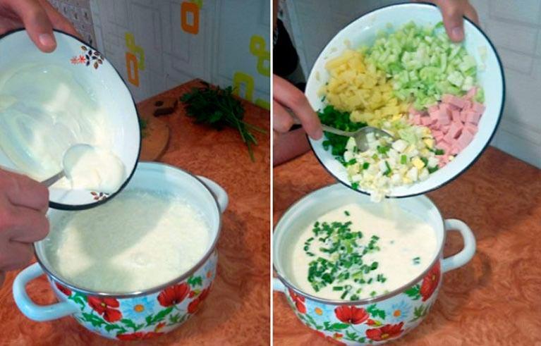 Подборка рецептов холодной окрошки просто незаменима!