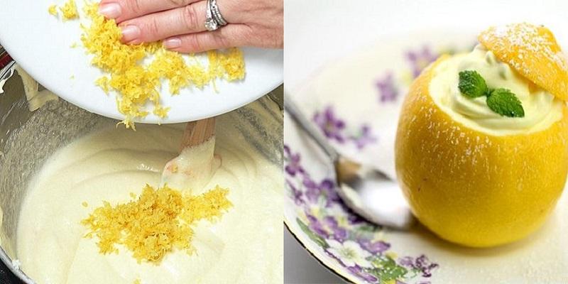 Бесподобный лимонный мусс