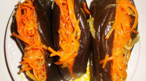 Баклажаны-с-морковью