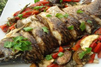Запеченная-рыба