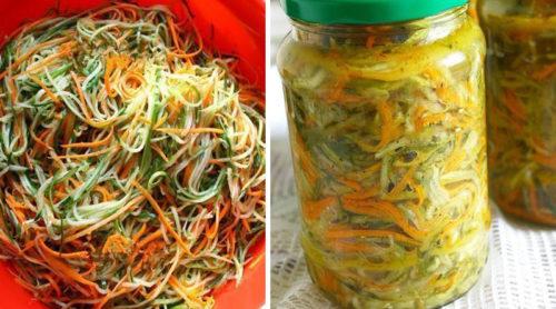 Огурцы-по-корейски-с-морковью