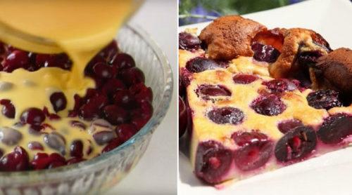 Пирог-запеканка-«Клафути»